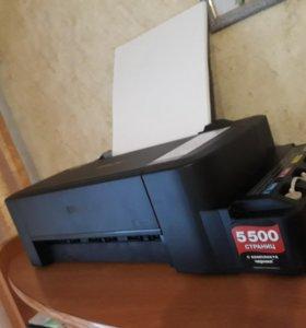 НОВЫЙ цветной принтер Epson L120