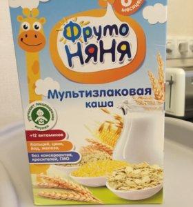 Каша молочная мультизлаковая Фрутоняня