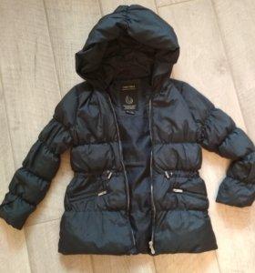 куртка Zara для девочки зимняя