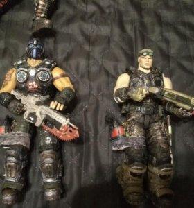 Фигурки gears of war