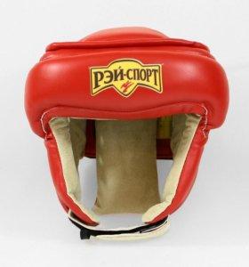 Шлем для единоборств с дополнительной защитой лба