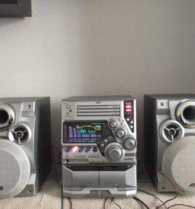 Музыкальный центр JVC MX-G71R