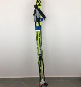 Комплект детских беговых лыж Fischer