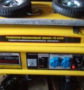 Генератор бензиновый бизон гб 6500
