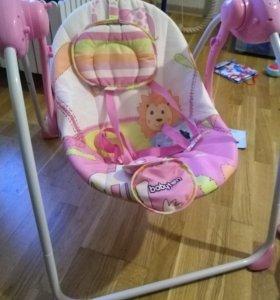 Электрокачель для новорожденного