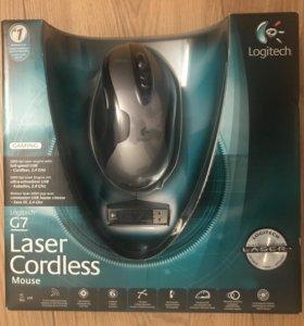 Легендарная Logitech G7 Laser Cordless Mouse