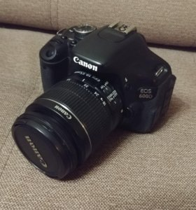 Canon 600D. Состояние близкое к идеалу