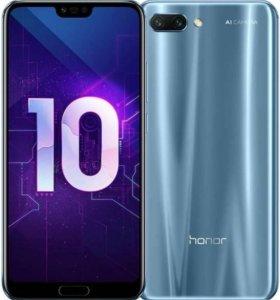 Honor 10 ледяной серый 64гб рст