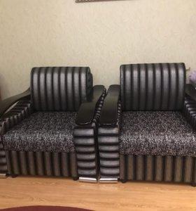 Продаю новые кресла с ящиками