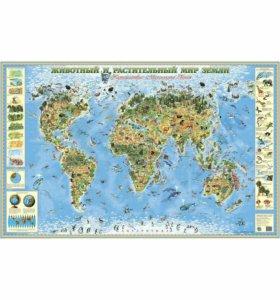 Детская географическая карта