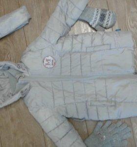 Куртка Button Blue, примерно на 5-6 лет.