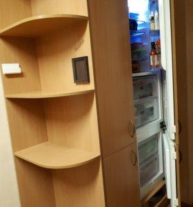 Холодильник Electrolux встраиваемый + шкаф