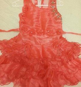Платье для девочки,р 32-34
