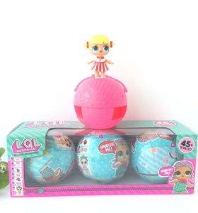 Набор кукол в шарике LOL Surprise, 3 шт