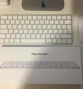 Apple Magic Keyboard 2 и Magic Mouse 2