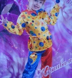 Новогодний костюм Петрушки