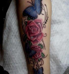 профессональное тату