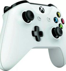 Геймпад Xbox one S + рессивер и док станция