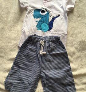 Новый костюм: футболка и шорты