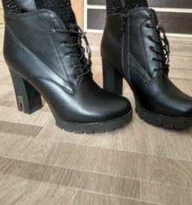Ботинки д/с новые