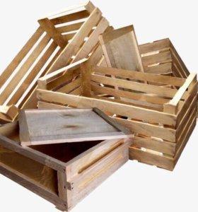Дрова деревянные ящики