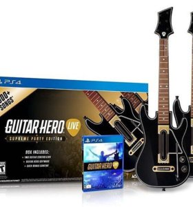 Guitar hero live supreme party PS4