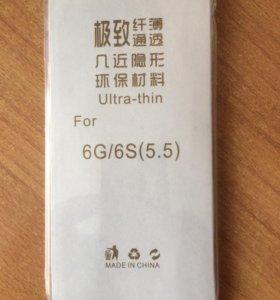 Чехол на айфон 6G, 6S, 6+ новый в упаковке