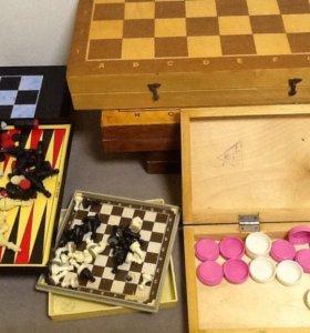 Шахматы  шашки СССР