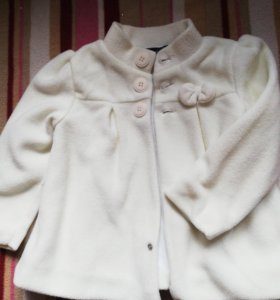 Флисовое пальто, 80 размер
