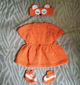 Платье Лисёнка для девочки