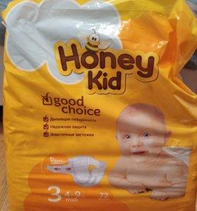 Памперсы Honey kid 4-9кг