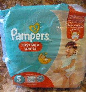 Подгузники-трусики Pampers №5 11-18 кг
