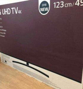 """Телевизор LG 4- K49""""UK75"""