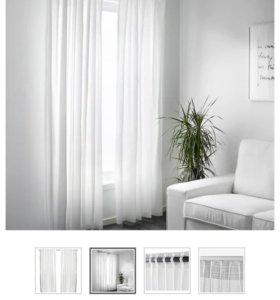Новые шторы IKEA