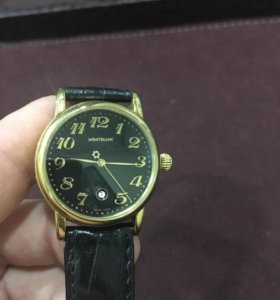 Швейцарские часы фирмы Montblanc