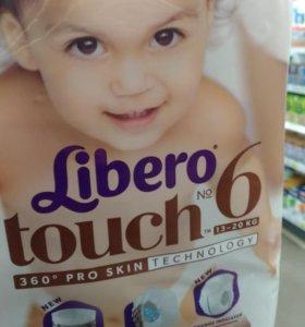Трусики Libero touch 6
