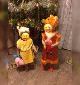 Новогодний костюм для девочки.