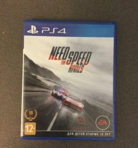 Игры PS4. Need for Speed Rivals