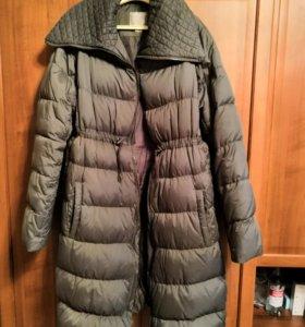 Демисезонное пальто для беременных S-M