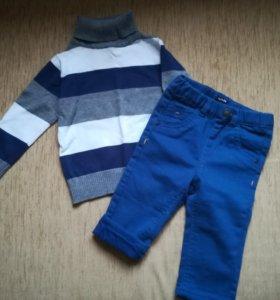 Комплект джинсы и свитер