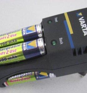 Зарядное устройство Varta 57662 + 4 AA 2100mAh