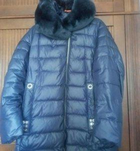 куртка-пальто на утеплители,легкая,турция