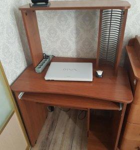 Компьютерный стол +стул