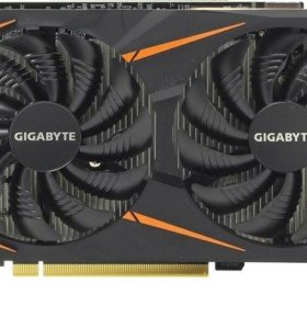 Видеокарта GIGABYTE GeForce GTX 1050 Ti Windforce