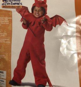 Детский карнавальный костюм Дьяволёнка