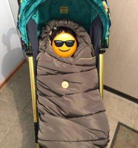 Конверт в коляску happy baby