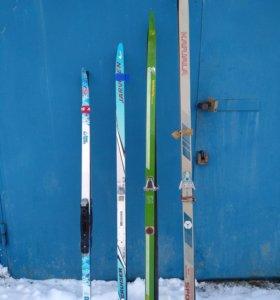 Лыжи беговые детские
