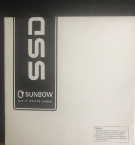 SSD 240 gb Sunbow