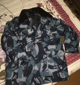 Куртка зимняя комуфляжная