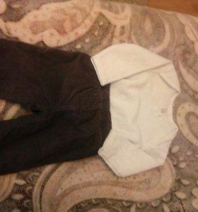 брюки и кофточка на 3 месяца